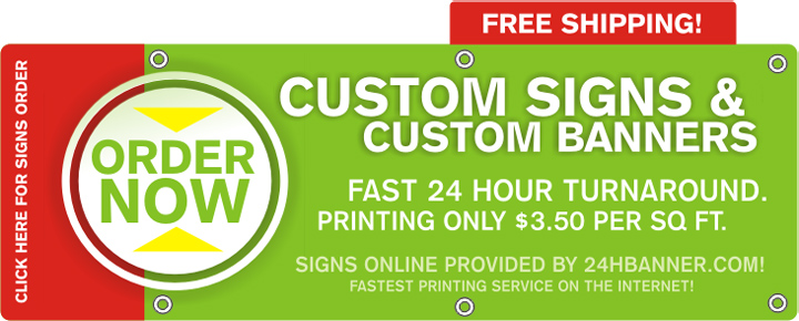 Vinyl Banners From HBannercom - Vinyl banners and signs